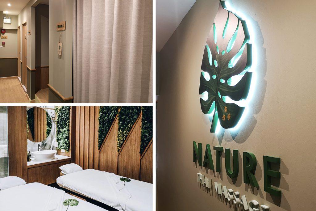 Nature Thai Massage สาขา สยามสแควร์