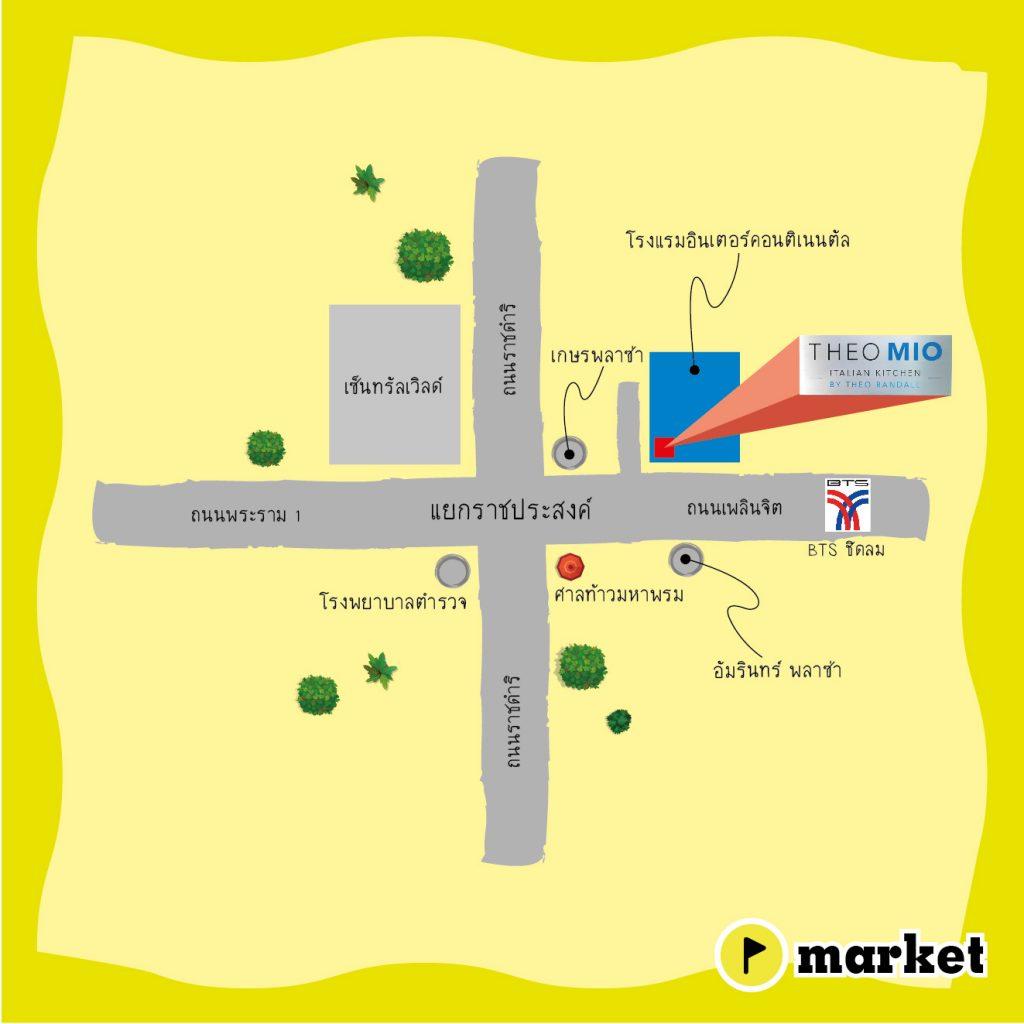 แผนที่ Theo Mio-Map