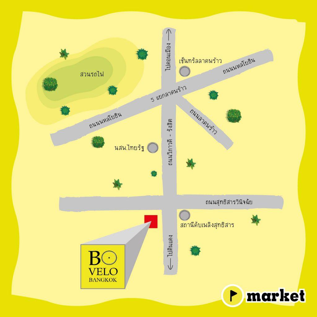 แผนที่ Bovelo Bangkok Bike Shop (Map)