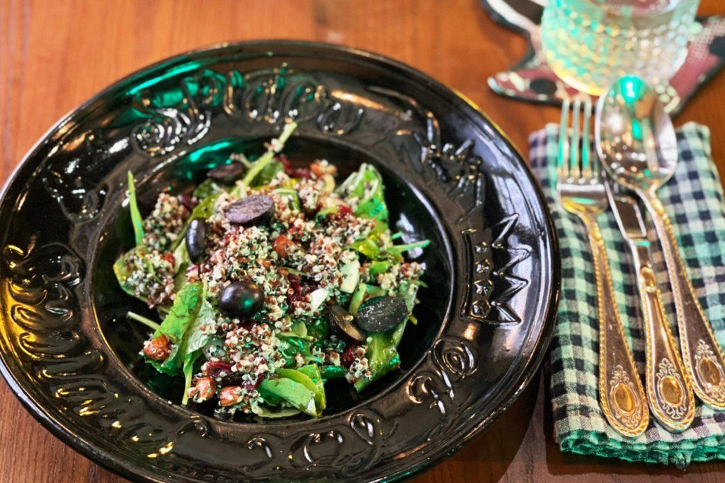 passion market-A Fox Princess - Spider Quinoa Salad
